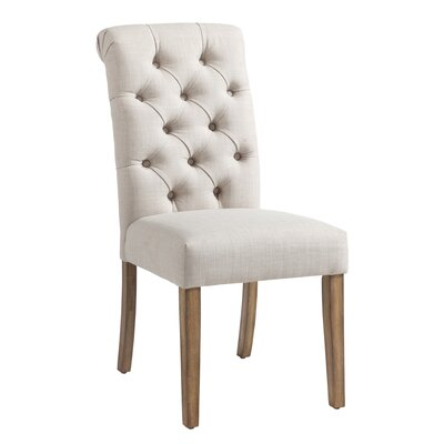 Plourde Parson Chair Upholstery: Beige