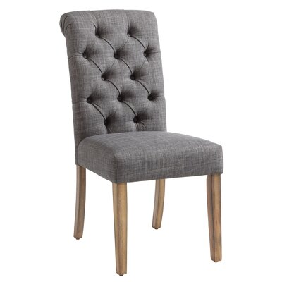 Plourde Parson Chair Upholstery: Gray