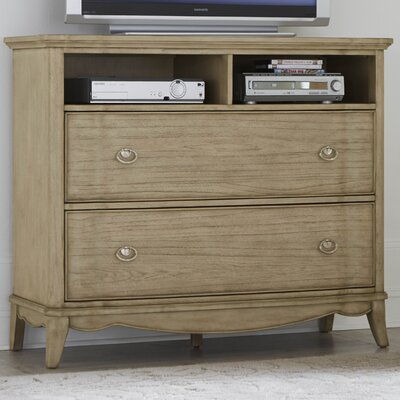 Pogson 2 Drawer Media Chest
