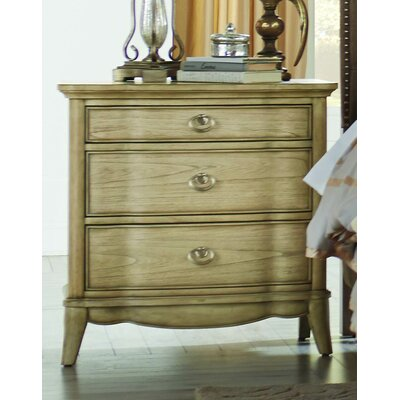 Pogson 3 Drawer Nightstand