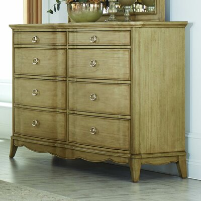 Pogson 8 Drawer Double Dresser