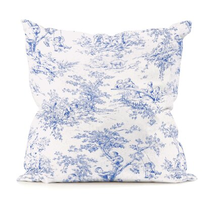 Kymmi Throw Pillow Color: Park Blue