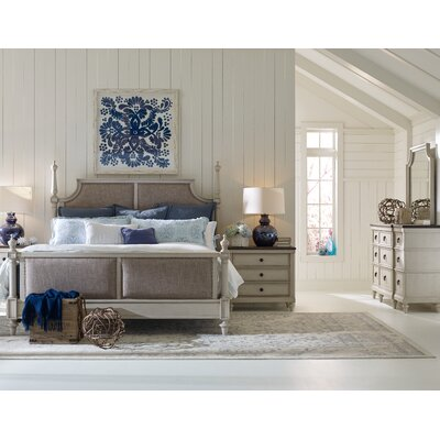 Upholstered Panel Customizable Bedroom Set