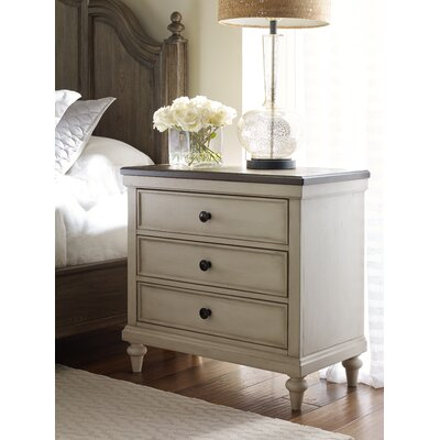 Bruyere 3 Drawer Nightstand