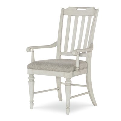 Ornithogale Slat Back Arm Chair (Set of 2)