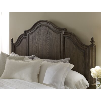 Ornithogale Panel Headboard Size: Queen, Color: Rustic Dark Elm