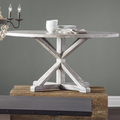 Lumpkin Dining Table Finish: Antique White