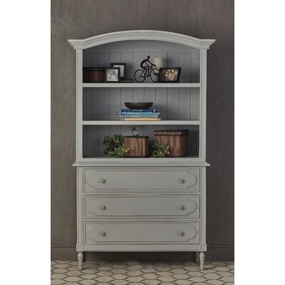 Percival 3 Drawer Standard Chest Color: Gray