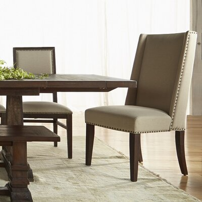Trecesson Side Chair (Set of 2) Finish: Rustic Java