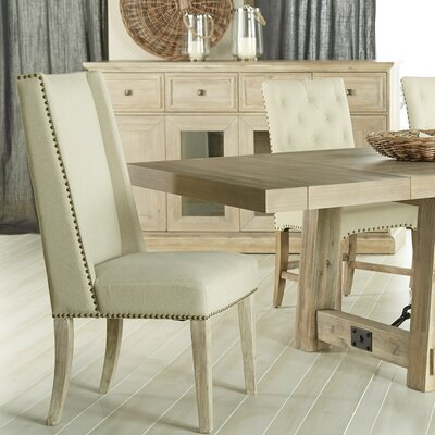Trecesson Side Chair (Set of 2) Finish: Stone Wash