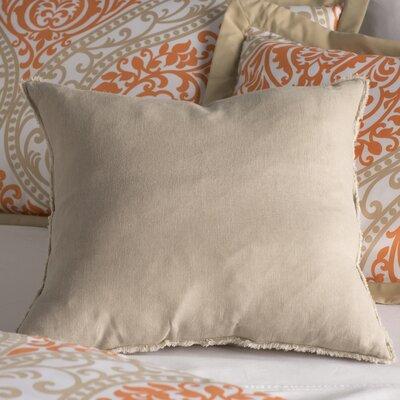 Levasseur Linen Throw Pillow Color: Natural
