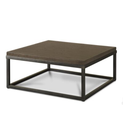 Deleon Coffee Table Color: Brownstone