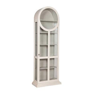 Ilka Round Top Standard Curio Cabinet