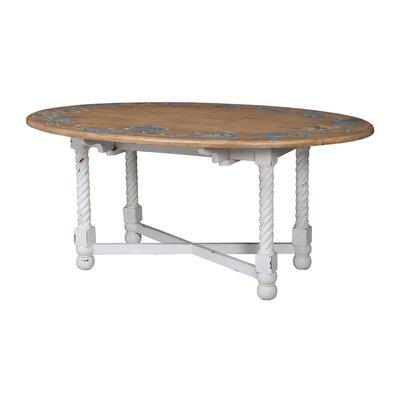 Ilda Oval Drop Leaf Console Table