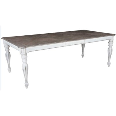 Tiphaine Extendable Dining Table Size: 30 H x 72 L x 40 D