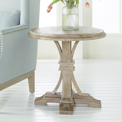 Parfondeval Round End Table Color: Stone Wash