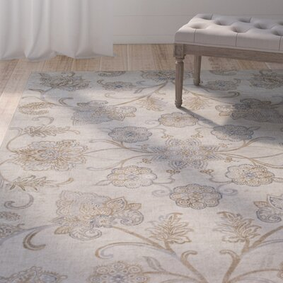 Blue Hill Khaki Area Rug Rug Size: Rectangle 5 3 x 7 6