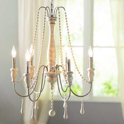 Elissa 6-Light Candle-Style Chandelier