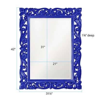 Lacquered and Lovely Mirror Finish: Royal Blue