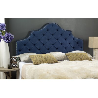 Prahl Upholstered Panel Headboard Size: Queen