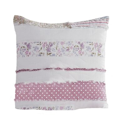 Essonnes Lavender Rail 100% Cotton Throw Pillow Size: 15 x 15