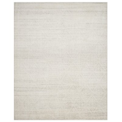 Alter Hand-Knotted Gray Area Rug Rug Size: Rectangle 8 x 10