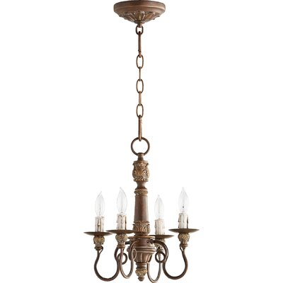 Paladino 4-Light Candle-Style Chandelier