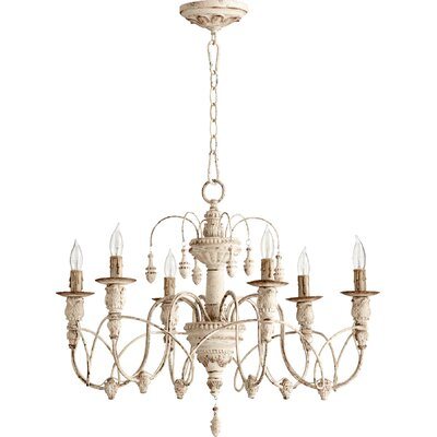 Paladino 6-Light Candle-Style Chandelier