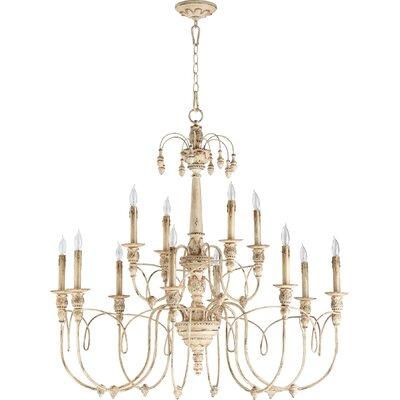 Paladino 12-Light Candle-Style Chandelier