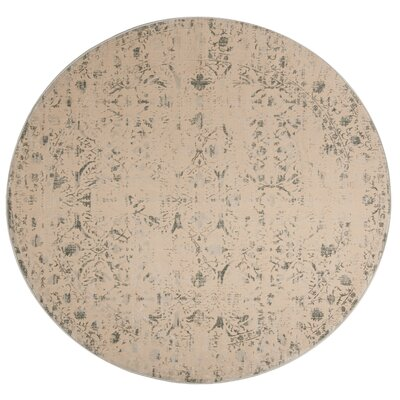 Roma Cream Area Rug Rug Size: Square 67