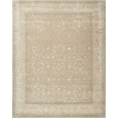 Deslauriers Hand-Tufted Latte Area Rug Rug Size: Rectangle 76 x 96