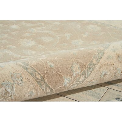 Deslauriers Hand-Tufted Latte Area Rug Rug Size: Rectangle 56 x 75