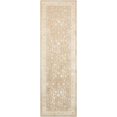 Deslauriers Hand-Tufted Latte Area Rug Rug Size: Runner 23 x 8