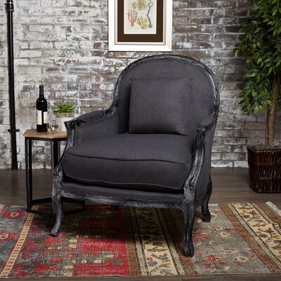 Pacheco Armchair Upholstery : Dark Charcoal