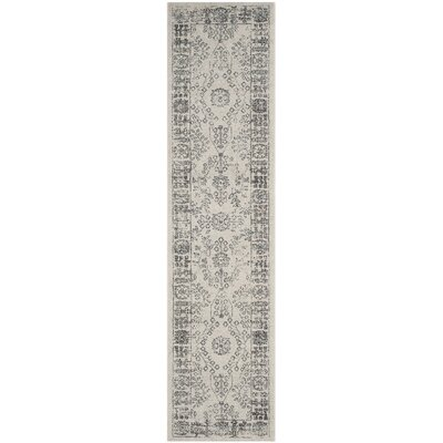 Harwick Beige and Blue Area Rug Rug Size: Runner 2 x 10