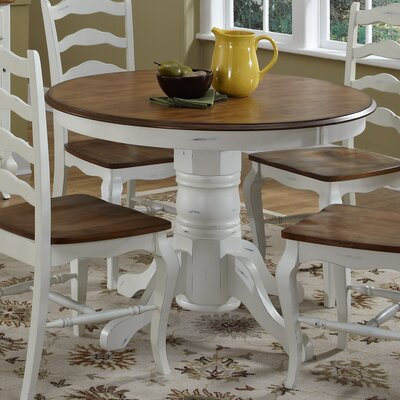Allaire Dining Table Base Finish: White