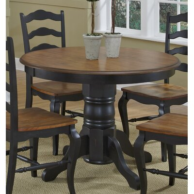 Allaire Dining Table Base Finish: Black