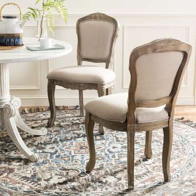 Ambroise Side Chair Color: Antique White
