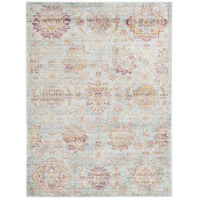 Shady Dale Blue Area Rug Rug Size: Rectangle 4 x 57
