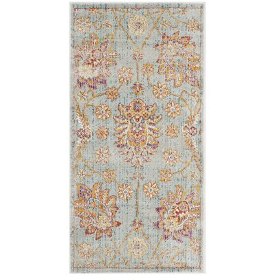 Shady Dale Blue Area Rug Rug Size: Runner 21 x 8