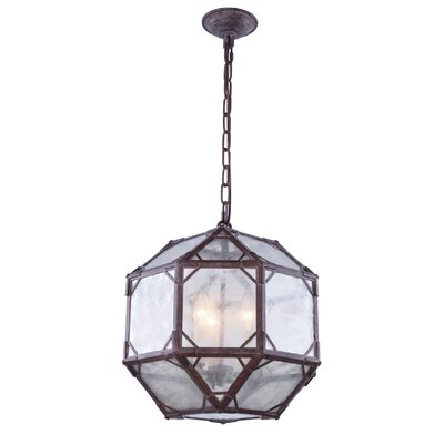 Puccio 3-Light Foyer Pendant Finish: Saddle Rust