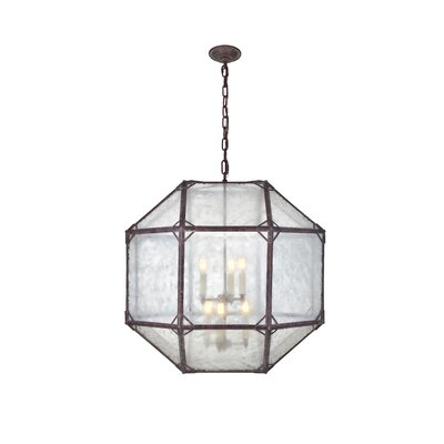Puccio 6-Light Foyer Pendant Finish: Saddle Rust