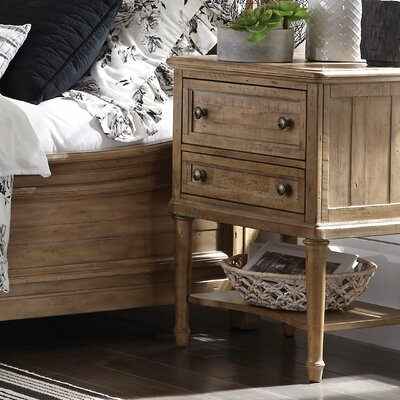 LaSalle 2 Drawer Nightstand