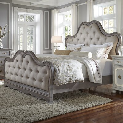 Levasseur California King Upholstered Panel Bed
