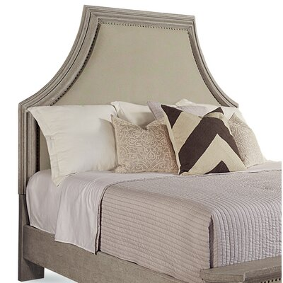 Carolin Upholstered Panel Headboard Size: King/California King, Color: Gray