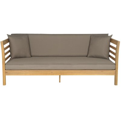 Douglasville Daybed Color: Teak Brown/Taupe