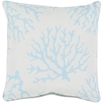 Calburn Outdoor Throw Pillow Size: 20 H x 20 W x 4 D, Color: Teal