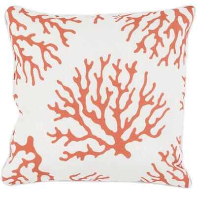 Calburn Outdoor Throw Pillow Size: 20 H x 20 W x 4 D, Color: Rust