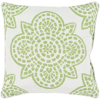 Beechwood Outdoor Throw Pillow Size: 16 H x 16 W, Color: Lime