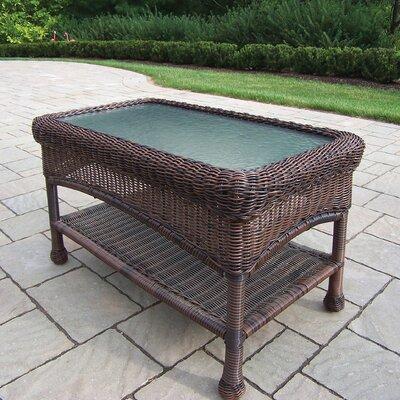Kingsmill Rectangle Coffee Table Finish: Coffee